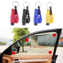 $enCountryForm.capitalKeyWord Australia - 7 Colors 3 in 1 Emergency Mini Safety Hammer Auto Car Window Glass Breaker Gadgets Seat Belt Rescue Hammer Escape Tool