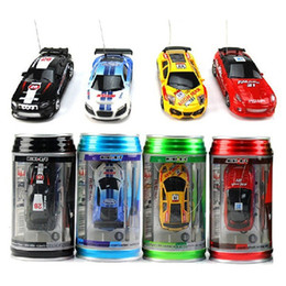 $enCountryForm.capitalKeyWord NZ - 1pc Mini Rc Car Christmas Childrens Toy Gift High Speed Coke Can Remote Control Car 1 :63 Automobile Race Model