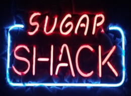 "neon wall lamps Australia - 17""x14"" Sugar Shack Restaurant Catering Store BEER BAR PUB WALL DECOR LAMP ADVERTISING NEON LIGHT SIGN"