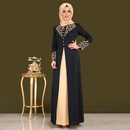 8499133677c7 Abito stampato 9008 vestito di abito da stampa caldo mediorientale  femminile Nuovo vestito musulmano abiti musulmani