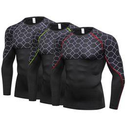 $enCountryForm.capitalKeyWord Australia - Men Long Sleeve Compression Shirt Men Sport Running T-shirts Thermal T Shirt Mens Fitness Bodybuilding Skin Tight Quick Dry