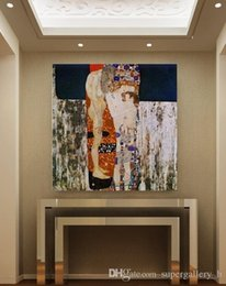 gustav klimt paintings NZ - Gustav Klimt - The Three Ages of Woman Handpainted & HD Print Art Oil Painting Home Wall Decor On High Quality Canvas .Multi sizes G139