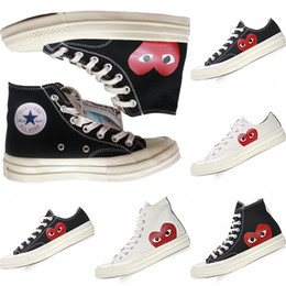 canvas shoes skateboard NZ - With Box 1970s Classic Benevolence Big Eyes Kids Canvas Casual Skateboard Shoes Originals 1970 Big Eyes Kids Buffer Rubber Training Sneaker