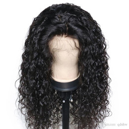 Big Black wigs online shopping - Curly Human Hair Lace Front Wigs Bob Short Pre Plucked Glueless Brazilian Virgin Short Full Lace Curly Bob Wigs For Black Women