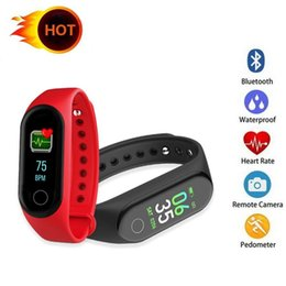 pulse heart rate watch band Australia - M4 Smart Band Fitness Tracker Watch Sport bracelet Heart Rate Smart Watch 0.96 inch Smartband Monitor Health Wristband