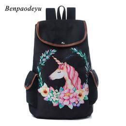 $enCountryForm.capitalKeyWord Australia - Unicorn Students Backpack Cute Cartoon Children School Bags Casual Canvas Travel Rucksack Soft Breathable Backpacks Kids Bookbag