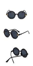 $enCountryForm.capitalKeyWord UK - Wholesale-Designer Sunglasses For Children Fashion Round Summer Style Girls Boys Sunglasses Kids Beach Supplies UV Protective Eyewear