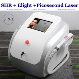 beauty machine tattoo removal NZ - Clinic Use OPT SHR IPL hair removal Elight Skin Rejuvenation Machine Laser Pico Tattoo Removal Picosecond Picosure Beauty Equipment