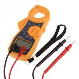 Digital Clamp Meter Dc Current NZ - Portable MT87 LCD Digital Clamp Meters Multimeter With Measurement AC DC Voltage Tester Current Resistance Multi Test