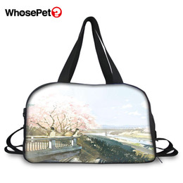 $enCountryForm.capitalKeyWord UK - WHOSEPET Fashion Travel Bag I want to eat your pancreas Prints Pattern Beautiful Hand Luggage Totes Bag Sports Bags for Women