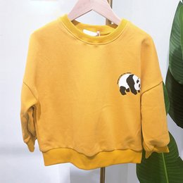 $enCountryForm.capitalKeyWord Australia - Kids Sweatshirt 2019 Autumn New Kids Boy Clothes Cartoon Panda Parttern Sport Sweatshirt Clothes