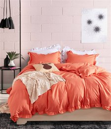 modern king beds NZ - 10 Colors US Size Cotton Linen Blending Twin~King Size Bedding Sets Bed Sheets Queen Bedding Sets King Size Comforter Set