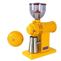 Coffee beans grinder online shopping - Electric Coffee Grinder Coffee Bean Burr Grinder Speeds Spice Grinding Machine with Stainless Steel Blade