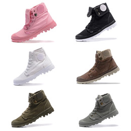 military army outdoor cap Australia - Winter Martens Women Military Shoes Couple High-top Canvas Shoe Palladium Ankle Botas Outdoor Shoes Leisure Cowboy Ankle Boot Casual Shoes