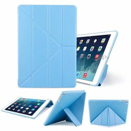 $enCountryForm.capitalKeyWord Australia - For New iPad Pro 11 10.5 9.7 2018 Mini 5 Air 3 2 Foldable Magnetic Smart Cover Matte Cases Cover With Auto Sleep Wakel