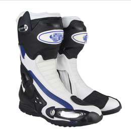 moto biker boots Australia - Riding Tribe Motorcycle Boots Men Motorcycle Shoes Botas Moto Motocross Boots Motorbike Biker off-Road Racing Riding Boots