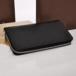 Leather ticket waLLet online shopping - Amazing Quality low price Designer M30513 Zippy Organiser Genuine Leather Big Wallet easily holds chequebook plane tickets pen bag
