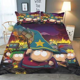 $enCountryForm.capitalKeyWord Australia - Cartoon Magician 3D Bedding Set Print Duvet Cover Set Lifelike Bed Sheet,Twin,Full,Queen,King