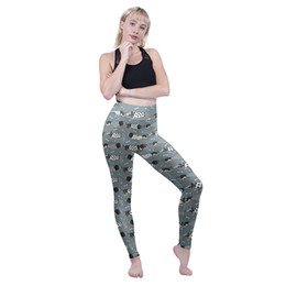 $enCountryForm.capitalKeyWord Australia - Woman High Waist Leggings Fashion Dachshund 3D Digital Full Printed Comfortable Pencil Fit Girls Soft Trousers Lady Sport Jeggings (Y601900)