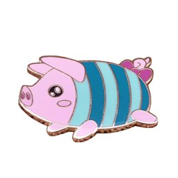 $enCountryForm.capitalKeyWord UK - Poogie hard pin cute pet pig brooch monster hunter world game needle animal jewelry girl child gift