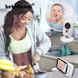China 3.2 inch Wireless Color Video Baby Monitor Camera Night vision Baby Sleep Nanny Security Temperature Monitoring LCD Camera supplier color security camera night vision suppliers