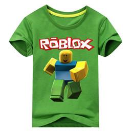Baby Tees Australia - Kids Roblox Tees Tops Clothes Children 3d Games Print T-shirt Clothing For Boys Girls Summer Tshirt Costume Baby T Shirt Dx107 J190427