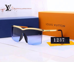 sun glasses lenses NZ - 1237 2019 New Luxury Sunglasses For mens and women Designer Sunglasses Sun glass Pilot Frame Coating Mirror Lens