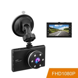 Mirror caMera screen online shopping - Car DVR Sony IMX323 Sensor Auto Camera Novatek Full HD p Dash Cam Inch Screen WDR Night Vision Car Video Recorder