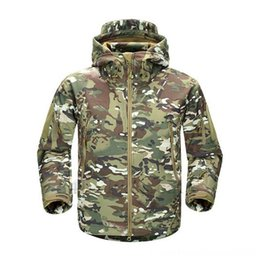 lurker shark skin jacket UK - TAD V4.0 Camouflage Jacket Lurker Shark Skin Soft Outerwear Tactical Clothing Shell Tactical Waterproof Windproof Sports Jacket Hunting Gear