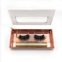 Eyeliner For Eyelashes UK - NEW Magnetic Liquid Eyeliner for Magnetic Eyelashes (Eyeliner + three Magnetic Magnet eyelashes) Glue Free False Eyelashes