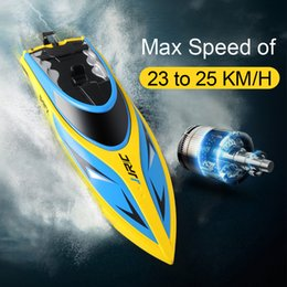 Wholesale JJRC S1 S2 S3 High Speed RC boat Self Righting Speedboat Portable Remote Control Ship Km h toys for Children Water Cooling HOT