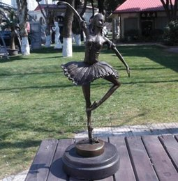 $enCountryForm.capitalKeyWord Australia - Ballet girls dancing figure sculpture European bronze sculpture handicraft decoration Home Furnishing decorations gifts