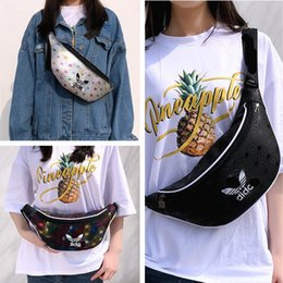 $enCountryForm.capitalKeyWord NZ - PU Laser Woman Bags Messenger Bag Men Crossbody Bag Waist Bag AD Luxury Handbags Purse 2019 Fanny Pack Travel Sport Totes C6404