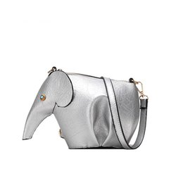 3cde38475853 good quality Cartoon Elephant Handbag Fashion Women s Shoulder Messenger Bag  High Quality Pu Leather Mini Cute Casual Crossbody Purse