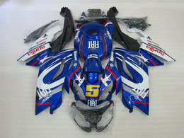 Rs 125 abs faiRing kit online shopping - Injection mold Fairing kit for Aprilia RS125 RS ABS Blue White Fairings set AA08