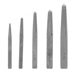 $enCountryForm.capitalKeyWord NZ - Carbon Steel 5pcs Screw Extractor Broken Damaged Bolt Easy Out Removal Tool Square Type