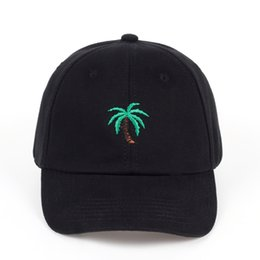 $enCountryForm.capitalKeyWord UK - which in shower casual unisex palm tree dad hat adjustable cotton coconut tree baseball cap hip hop women summer snapback hat
