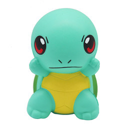 small turtle toys NZ - Green small tortoise free sample eco friendly PU foam slow rising custom squishies animals turtle squishy