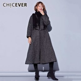 $enCountryForm.capitalKeyWord Australia - CHICEVER Winter Woolen Coat Female Loose Long Sleeve Cardigan Loose Big Size Outerwear For Women Coats Fashion Clothes 2018 New