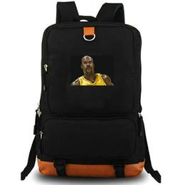 $enCountryForm.capitalKeyWord Australia - Shaq day pack Basketball player daypack Shaquille O Neal schoolbag Print packsack Laptop rucksack Sport school bag Outdoor backpack