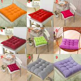 $enCountryForm.capitalKeyWord Australia - 40*40CM Winter Home Office Decor Seat Cushion Solid Color Comfortable Bar Chair Sofa Pillow Buttocks Chair Cushions HFing