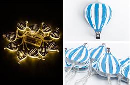 $enCountryForm.capitalKeyWord Australia - 2019 novelty lights LED metal string holiday lighting decorative lights color hot air balloon modeling lights children's bedroom nigh