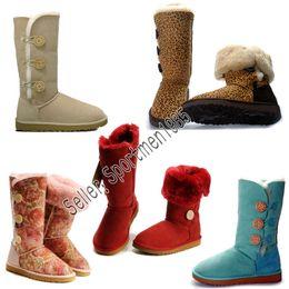 2019 UGG Authentic AUSTRALIA WGG Boots Designer Keep warm Sport-Laufschuhe für Damen Sneakers Damen Baumwolle Stiefelschuhe Casual Trainer 1873