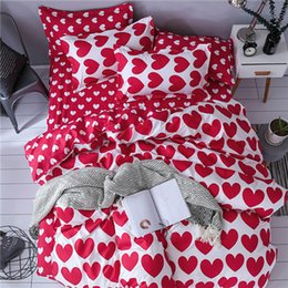 king duvet sets orange Australia - Super Soft Duvet Cover Sets Washed Cotton Fabric Beddings and Bed Set Queen King Size Bed Linen White Pink Bedclothes