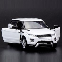 Die cast toys online shopping - High Simulation Exquisite Die casts Toy Vehicles RMZ city Car Styling Evoque Luxury SUV Alloy Car Model Pull Back