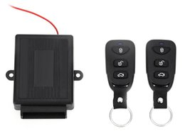 unlock kits UK - 433.92MHz Universal Electric with Air Lock Car Auto Vehicle Remote Central Kit Door Lock Unlock Window Up Keyless Entry System