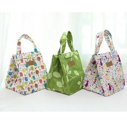 $enCountryForm.capitalKeyWord Australia - Cute Animal Portable Insulated Canvas Lunch Bag Thermal Picnic for Women Kids Men Cooler Bag Tote bolsa de almuer HW