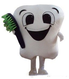tooth fancy dress costume NZ - 2019 Hot sale tooth mascot costume party costumes fancy dental care character mascot dress amusement park outfit teeth