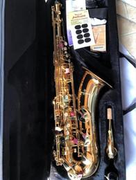 Toptan satış Vaka Free ile Japonya Yanagisawa T-902 tenor Bb Tenor saksofon çalmaya saksofon süper profesyonel Tenor saksofon
