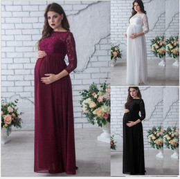 a762cf8410d Ball gowns for pregnant online shopping - 2019 new Clothes for pregnant  women Solid Long sleeve